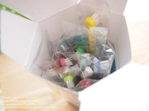 くまの学校歯ブラシセット開けてみたところ