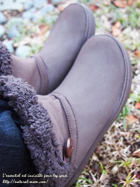 クロックスモデッサ シンセティック スエード ショーティ ブーツ ウィメン履いてみた