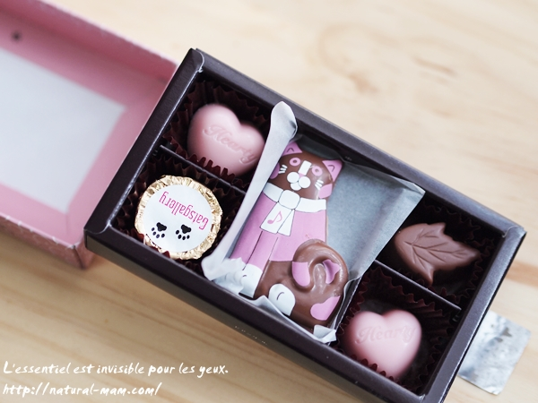ビアンクールキャッツギャラリー猫の形のチョコレート