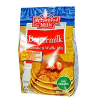 Arrowhead Mills, Pancake and Waffle Mix, Buttermilk, 26 oz (737 g)