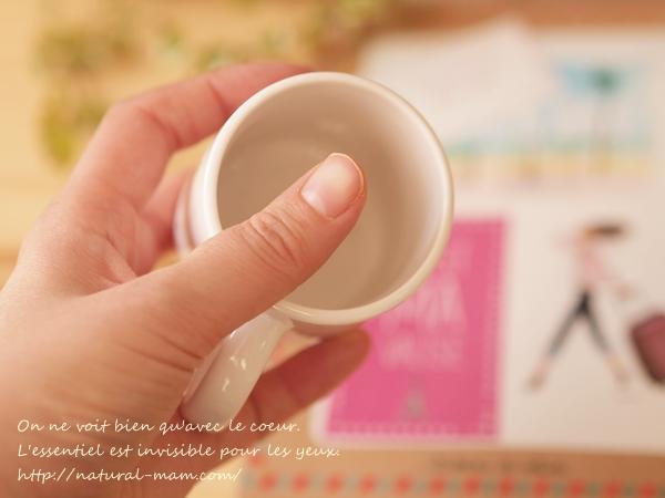 マイリトルボックス11月号のミニマグカップサイズ感