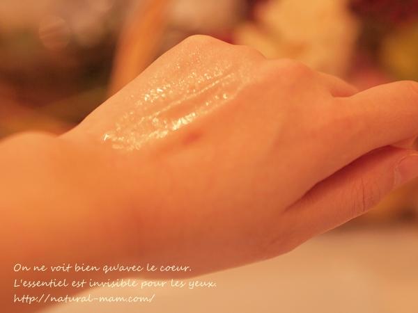 韓国オーガニックコスメ 美と秀の真緑水オーガニックスキン テクスチャー