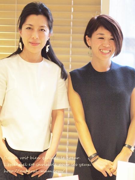 アミノ酸シャンプーuruotte笹沢社長とメイクアップアーティストの早坂さんのトークショー