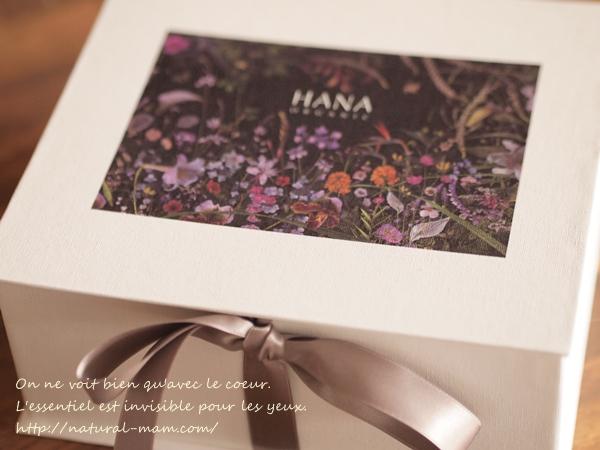 HANAオーガニックリニューアル記念限定ボックスを注文しました