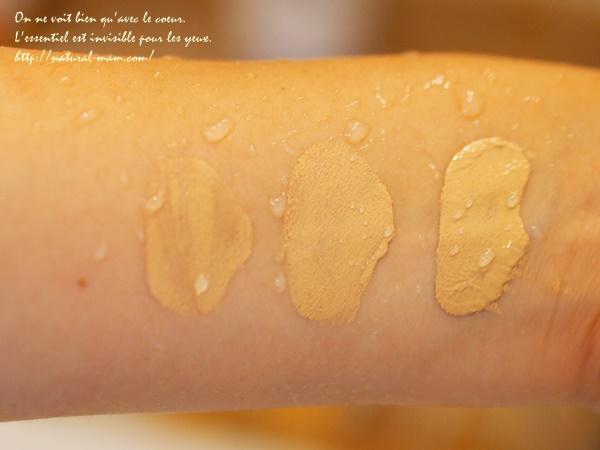 ノンケミカルBBクリームのセパルフェ、汗で落ちるかの実験