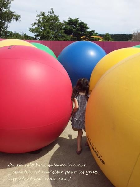 ピカソのタマゴのボール
