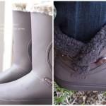 クロックス冬のブーツ