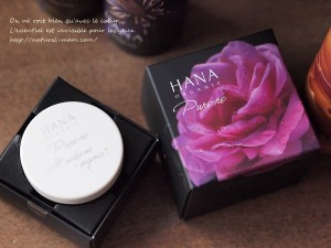 HANAオーガニックの2015年クリスマスコフレの練り香水