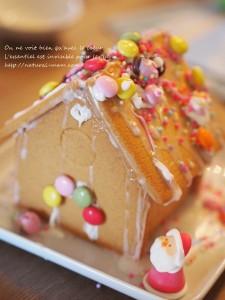 クリスマスパーティーにヘクセンハウス