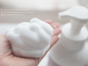 泡で出る赤ちゃん用無添加ソープ