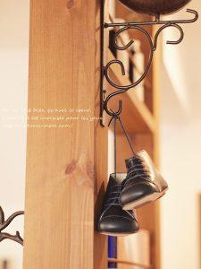 かわいい靴雑貨のインテリアとしても楽しめる