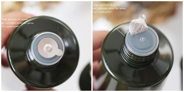 無印良品のオーガニック化粧水の封