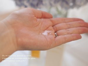 ヘヴンヴェール 天使の聖水と天使の聖油のテクスチャー