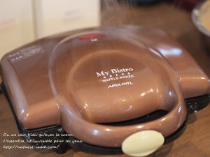 セノビックチョコ味のワッフル