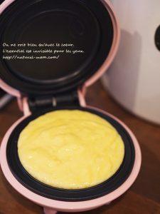 スマイルベイカーミニでパンケーキを作る
